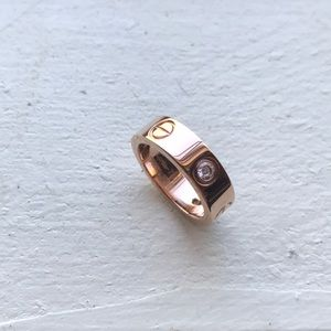 Jewelry - C750 Rose Gold Ring size 7
